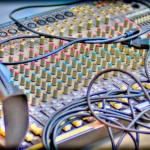 Mixing Board in HDR