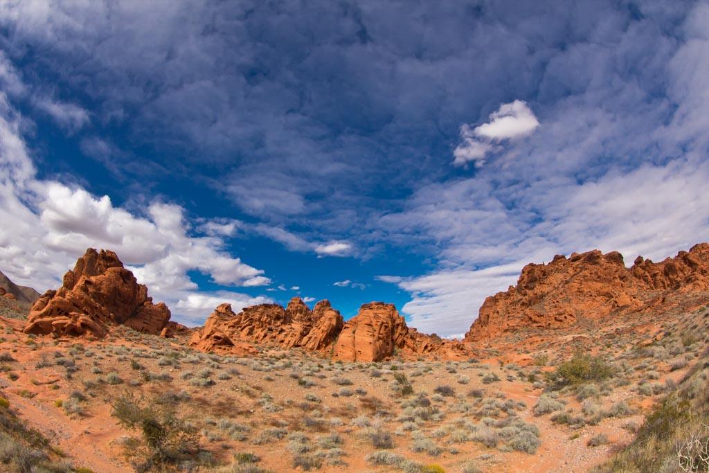 Nevada Desert Sky