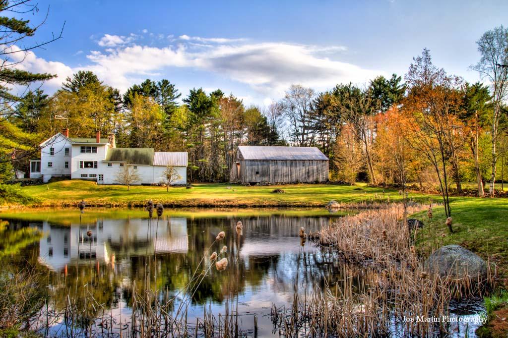 Country House near pond