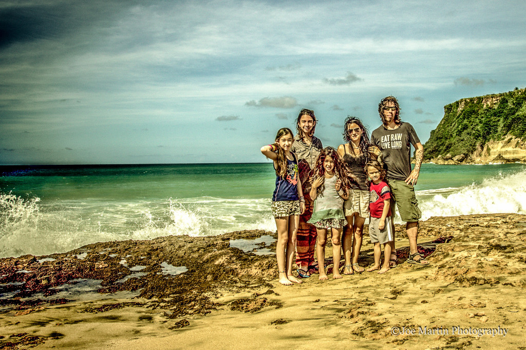 Family portrait in PR
