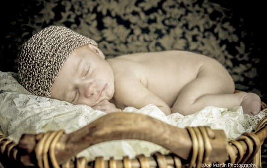 newborn photographer posted a photo