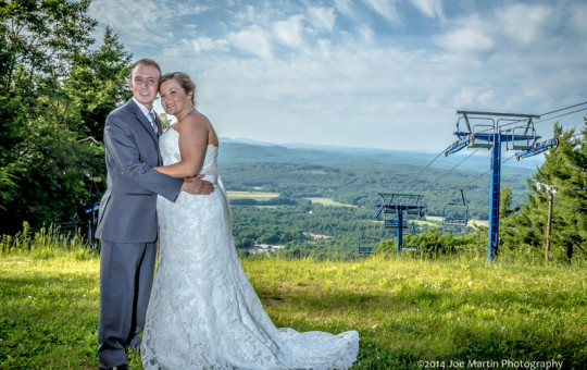 Southern New Hampshire Weddings at Pats Peak ~Joe Martin
