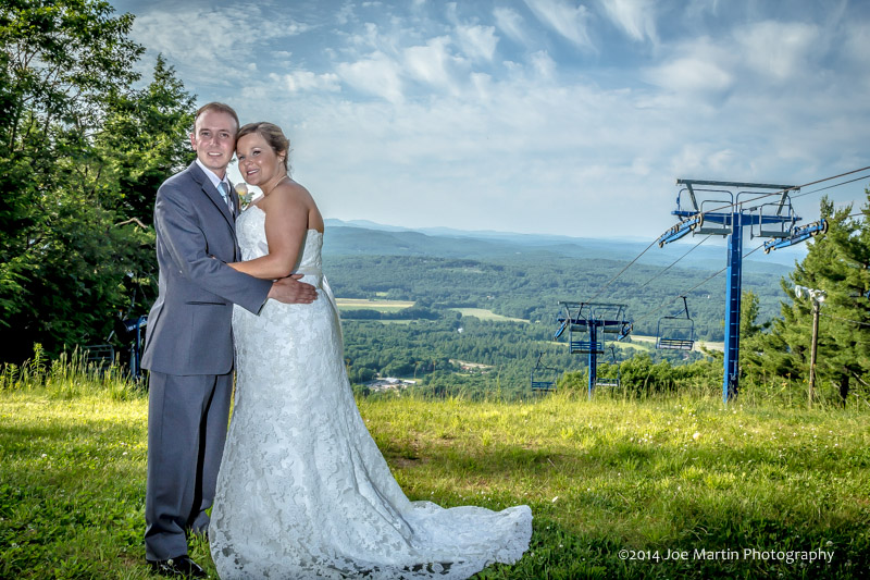 Southern New Hampshire Weddings at Pats Peak ~Joe Martin