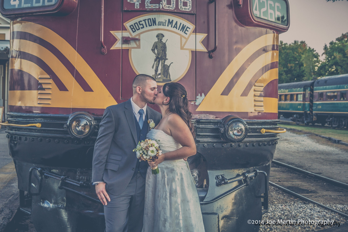 Danielle & Brandon Get Married at The Conway Scenic Railroad
