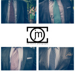 wedding photo of guest ties