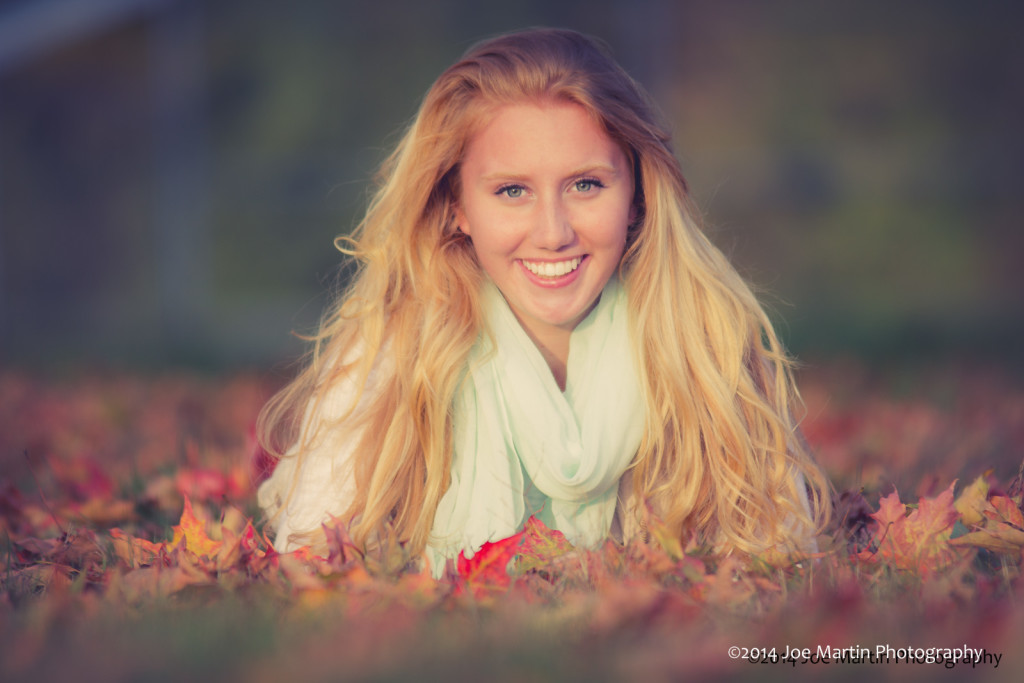 """Might be my favorite shot from Rylie""""s senior session."""