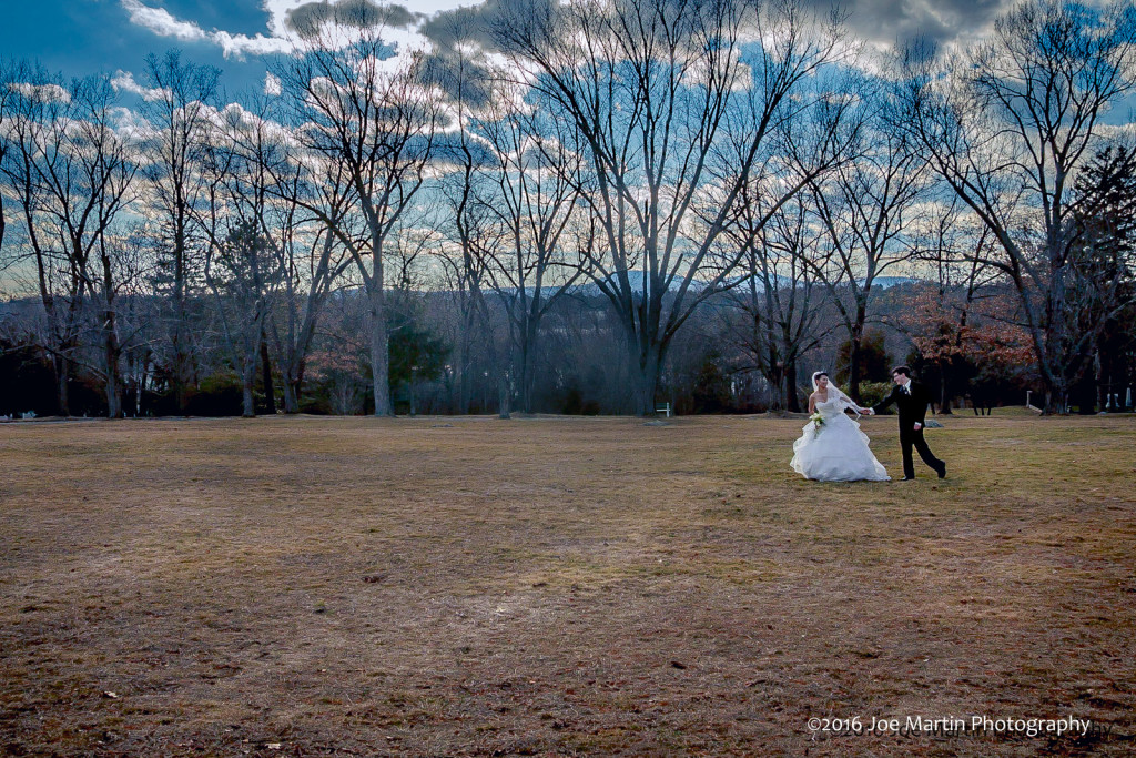 One more fine art bride portrait, then off to the party.