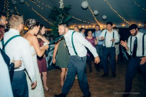 fun and games on the dance floor