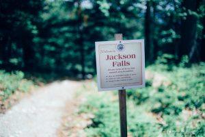 location of the wedding- jackson falls,nh