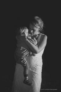 Bride dancing with her nephew