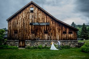 Best New Hampshire wedding venues- Rustic barn weddings at the Shovel Handle Pub Jackson New Hampshire in the White Mountains. and S