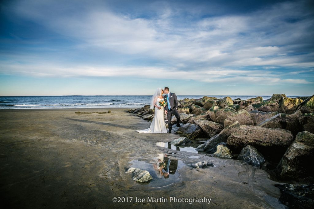 New Hampshire wedding photographers image from a beach photo shoot