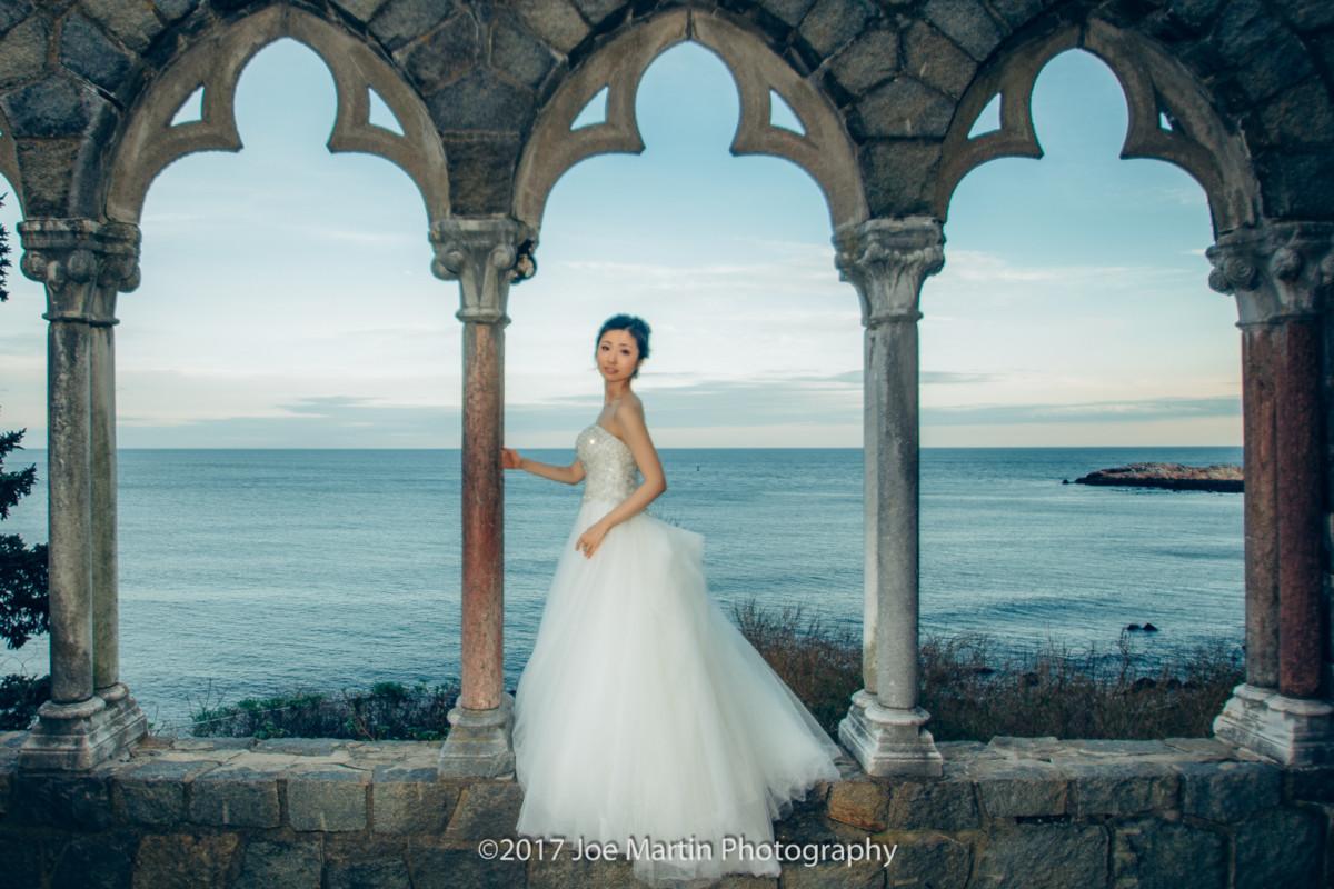 Wedding at Hammond Castle in Gloucester, Massachusetts