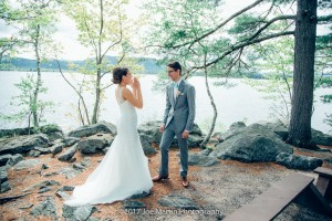 getting married at camp cody -freedom NH (2)