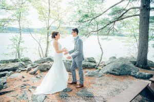 getting married at camp cody -freedom NH (5)
